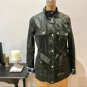 Oil Cloth English jacket size 8 Eur 40